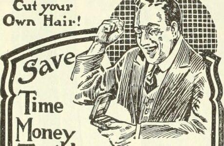 evde saç kesimi